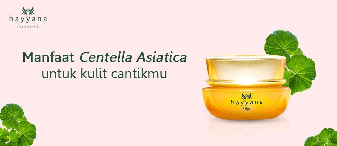 Manfaat Centella Asiatica Untuk Kulit Cantikmu