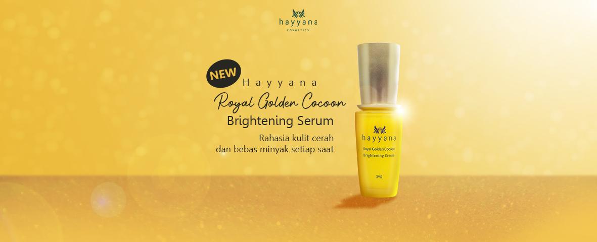 Hayyana Brightening Serum - Rahasia Kulit Cerah Dan Bebas Minyak Setiap Saat