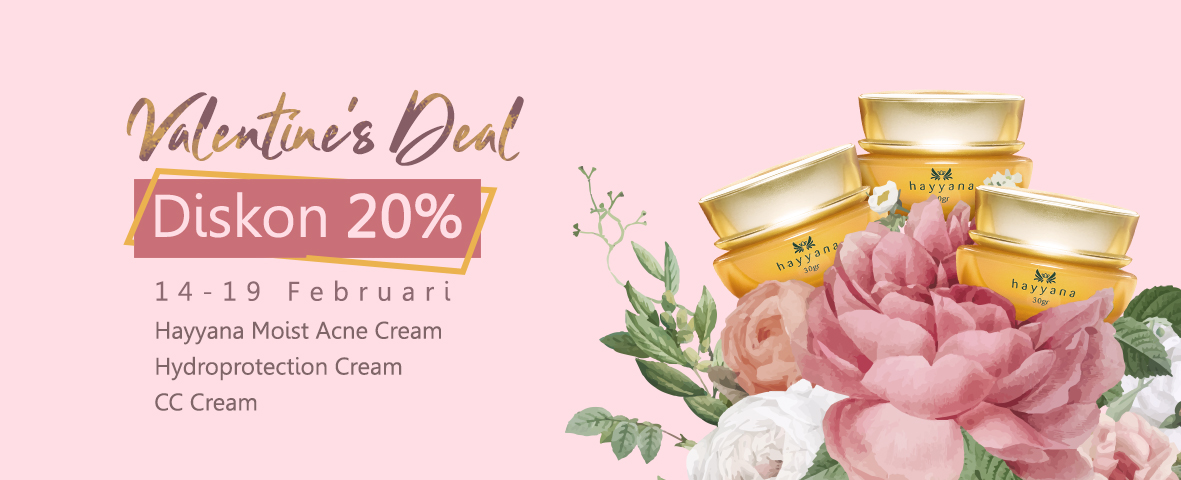 Valentine's Deal Hayyana Cosmetics