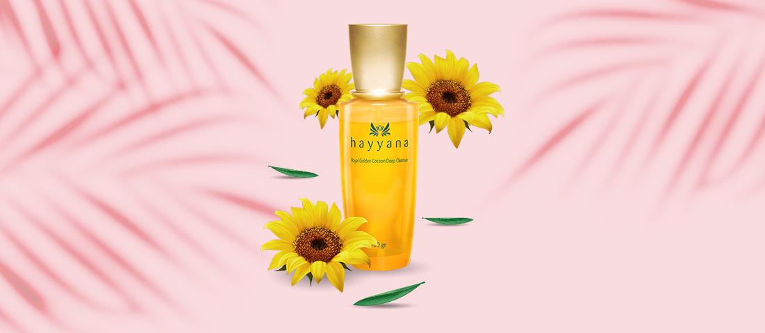 Bebas Komedo Dengan Hayyana Royal Golden Cocoon Deep Cleanser
